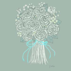 6月13日の誕生花紫陽花 一緒に頑張りましょう