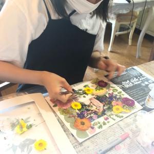 ブライダルレッスン  お花いっぱいの美しいウェディングフォト