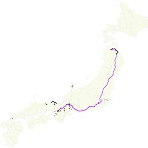 秋の乗り放題切符・台風19号に吹かれて四国流れ旅ーOption