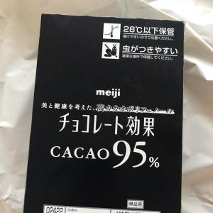 カカオ95%のチョコレート!美肌美白に!まるで医薬品!