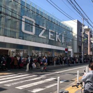 また始まったコロナの影響で日本食品の買いだめ!