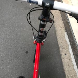 自転車をダイソーの商品でオシャレに!