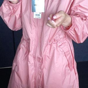 雨の日はライトブロックテックコート!