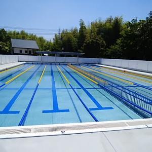 プールが完成しました。
