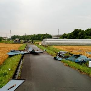 前橋市内で突風被害