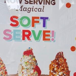 カップケーキやさんのソフトクリーム
