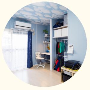 子供部屋の収納改善、小さなお客さまに頂いた大切なもの?