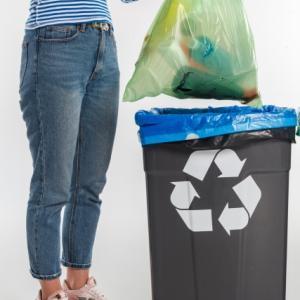 やっぱりコレが好き ゴミ袋45リットルサイズの収納