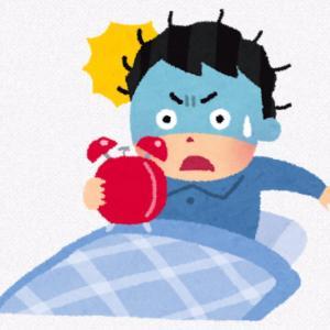 寝坊して大パニックの息子の朝からの一日。