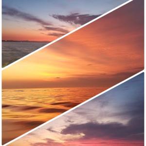 船上から見た空の写真館。