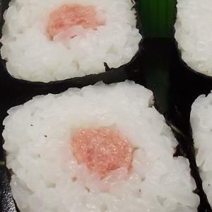 マグロのたたきの巻き寿司