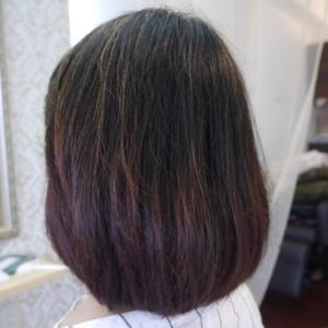 最近、髪質が衰えてきたのが気になりアルカリカラーをやめてナチュラルヘナに変更!