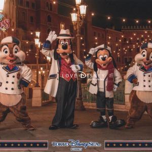 TDS「ディズニー・クリスマス2019」夜のディズニースナップフォト