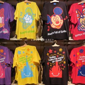 2019年夏「ディズニーキャラクターのTシャツ」59品紹介 in TDR