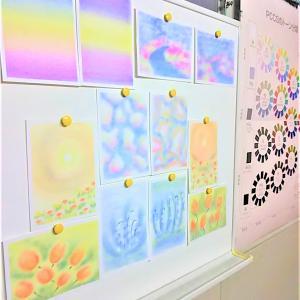 【私もワークショップができるようになりたい!】 ~ふわふわの綿で描く三原色パステルアート~ 神戸