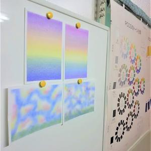 【ファンタジーにつながるアート】 ~ふわふわの綿で描く三原色パステルアート~ 神戸