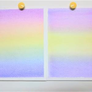 【ワクワクは未来を開く!】 ~ふわふわの綿で描く三原色パステルアート~ 神戸