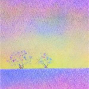 【色の魔法】 ~ふわふわの綿で描く三原色パステルアート~ 【全国対応】