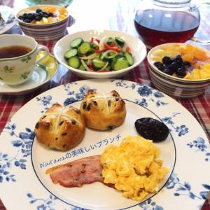 4月10日★朝食はイングリッシュ・ブレックファスト風で優雅に??おうちごはん