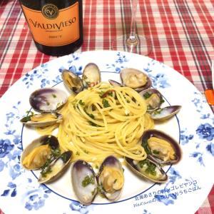 昨晩おうちごはん★旬の魚介料理「カツオのプロシュート巻きステーキ」「北海あさりボンゴレビヤンコ」