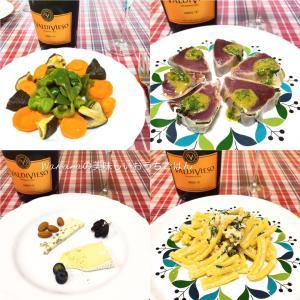 夏の我が家のおうち夜ごはんは「カツオのプロシュートステーキ」と「ニラ餃子」がヘビロテ。