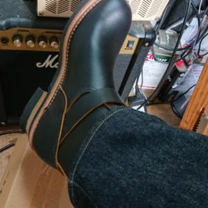 エンジニアブーツを履きやすくする。高いの安いの?革製品