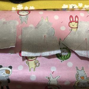 【初心者向け型紙】重ね着ワンピースセット 縫い方③