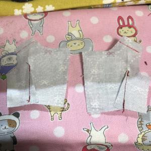【初心者向け型紙】重ね着ワンピースセット 縫い方④