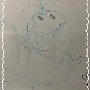 生徒が描いた私の絵