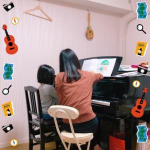 次女がピアノをはじめました。