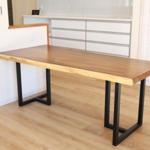 【杢美−MOKUHARU−】 モンキーポッドのダイニングテーブル