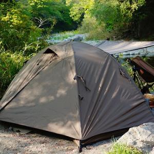 新緑の春ソロキャンプ