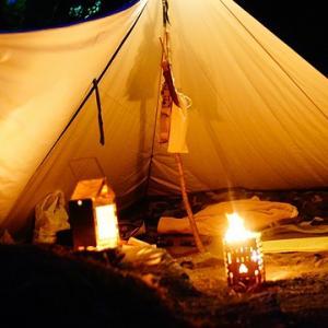 小さな火遊び、道具遊びなソロキャンプ