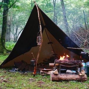 樹海ソロキャンプ ~CAMP AKAIKE~