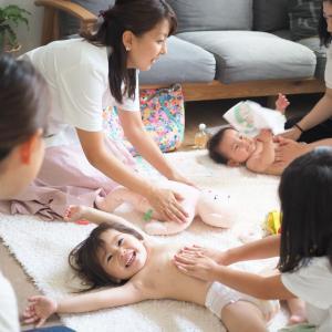 インテリアコーディネーター宅で学ぶ ベビーマッサージ&かわいい子供部屋作り講座