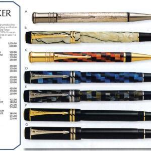"""""""Pen Boutique"""" ⑱ PARKER"""