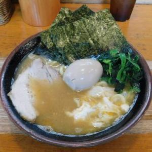 ラーメン大山家 本店@武蔵境のとき卵ラーメン