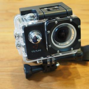 3,500円の激安アクションカメラで youtuber デビュー(爆)