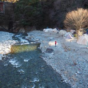 下村キャンプ場 〜 道志の穴場は過去の話?