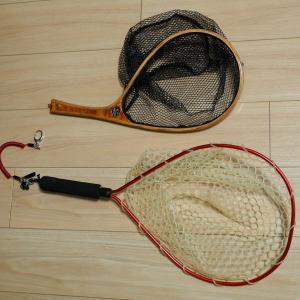 釣り用ネットの張り替え 〜 PROX 交換用ラバーネット12型