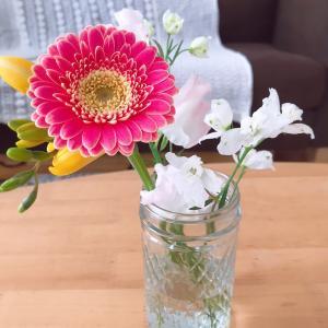 またお花が届きました♪