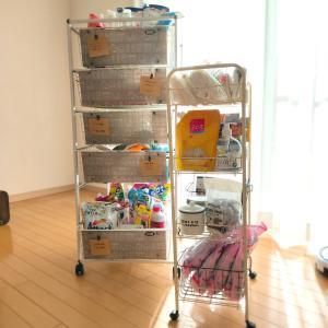 【整理整頓】消耗品・日用品ストックと楽天購入品