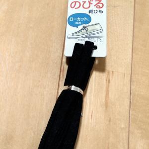 【楽天】購入スニーカーにダイソー靴紐