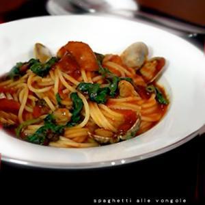 カツオ菜のパスタとキッシュとサムゲタン