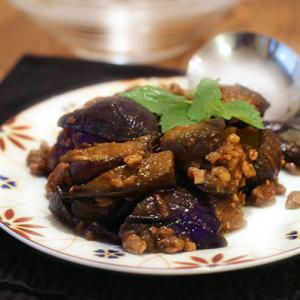 麻婆茄子と麻婆金平豆腐