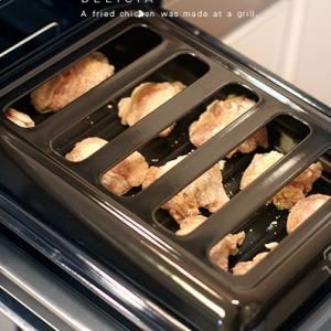 ノンフライ・鶏の唐揚げと焼き芋