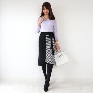 ●coordinate きれい目シルエットのニットスカート♡
