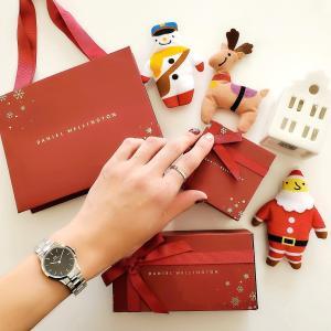 ●クリスマス限定ラッピングが素敵なダニエルウェリントン♡