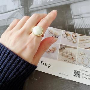 ●sugar natural stone ring♡