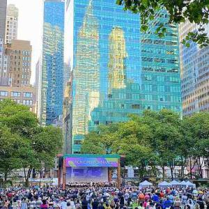 ニューヨーク交響楽団コンサート ブライアントパークにて開催中!NYC 2021夏のピクニックパフォーマンスシリーズ